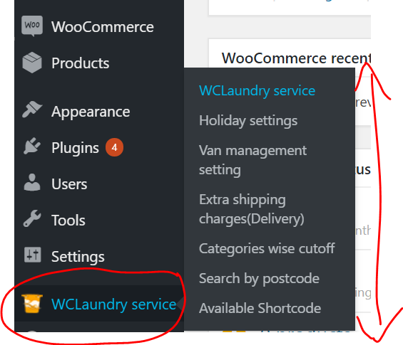 Install and activate Laundry Pickup & Delivery Plugin for WooCommerce in your WooCommerce store website