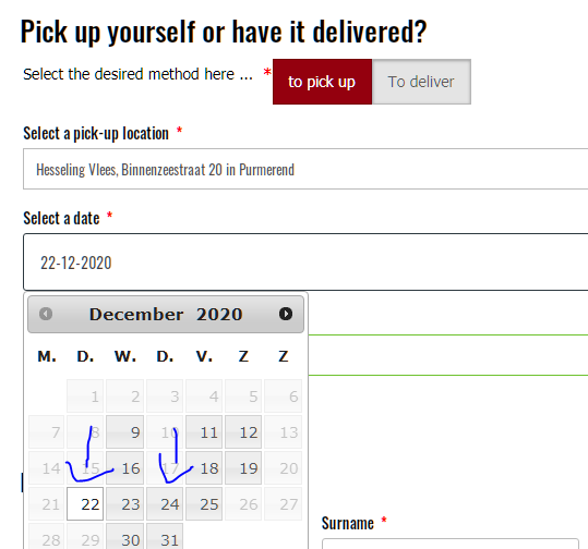 Datewise different Timeslot in woocommerce