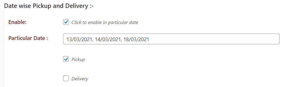 datewise